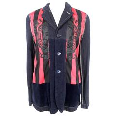 Comme des Garcons Shirt Reversible Linen Jacket Made in France