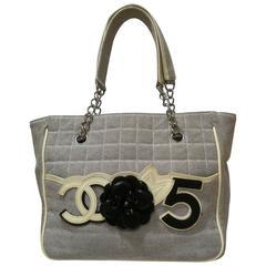 Chanel Camelia 5 Shopping Bag