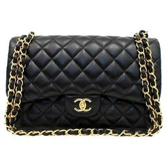 Chanel Black Large Flap Bag