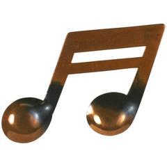 Rebajes Music Note Brooch