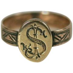 Attractive Victorian Signet Ring