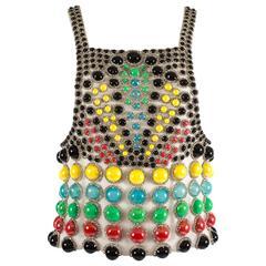 Jeanne Lanvin Spring-Summer 1968 Haute Couture embellished evening vest