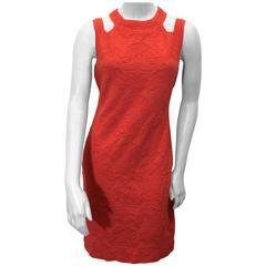Missoni Coral Textured Stretch Dress