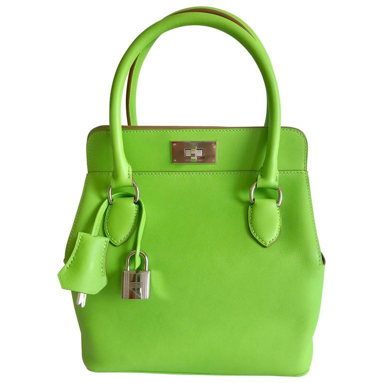 Hermes Toolbox Mini 20cm Granny Green  1