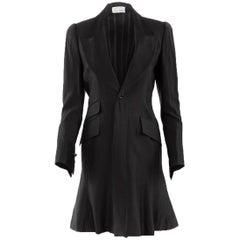 1980's Rare Matsuda Black Tuxedo Coat Dress