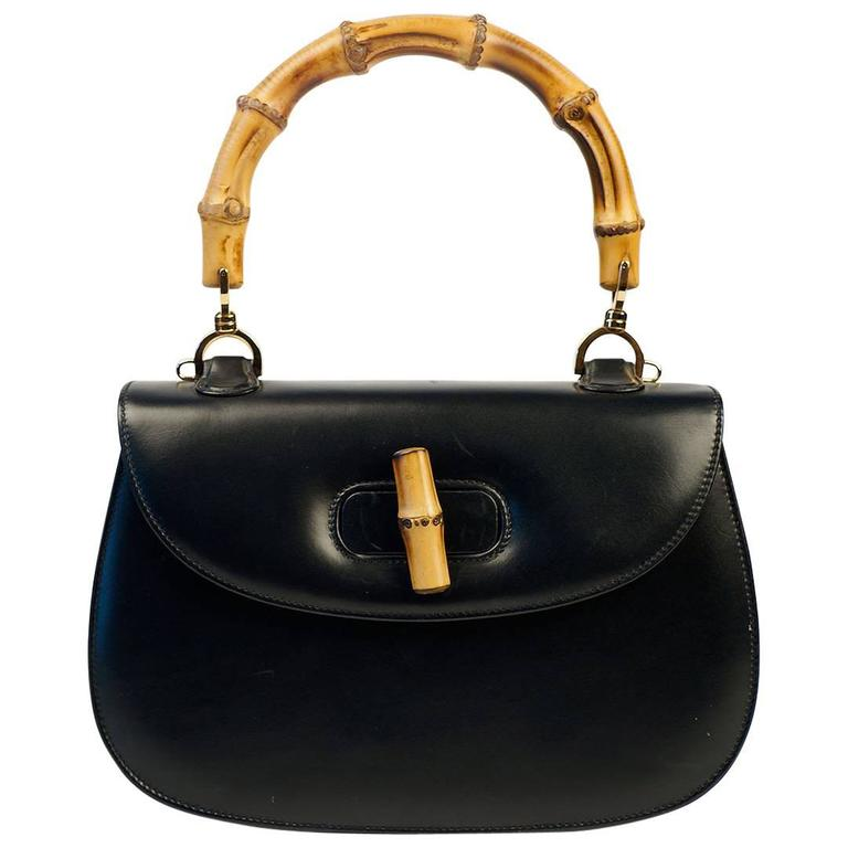Gucci Hand Bag with Bamboo Handle