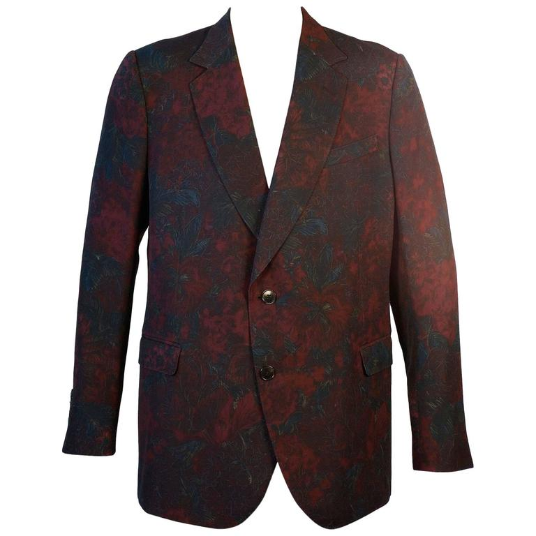 Gucci Floral Sports Coat by Designer Tom Ford 1