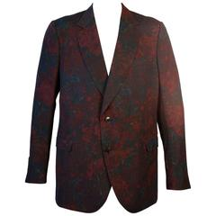 Gucci Floral Sports Coat by Designer Tom Ford
