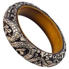 Vintage Tibetan Tribal Dragon Bracelet