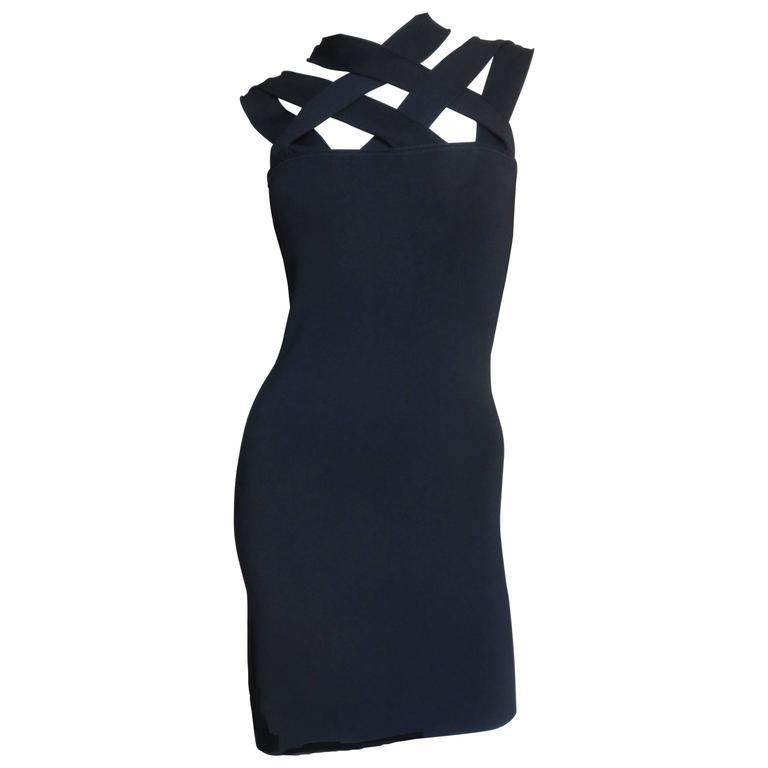 Givenchy Body con Bandage Dress
