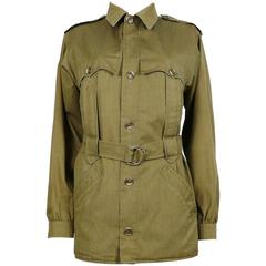 Yves Saint Laurent YSL Vintage Safari Jacket