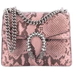 Gucci Dionysus Handbag Python with Embellished Detail Mini