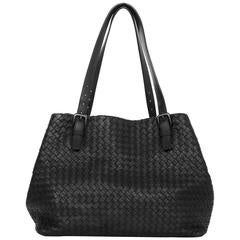 Bottega Veneta Black Intrecciato Large Tote Bag rt. $3,950
