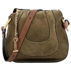 Chloe Hayley Hobo Suede Small