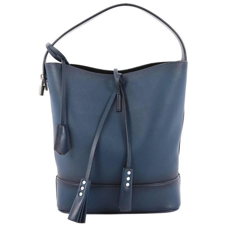 a6e1a189ac26 Louis Vuitton NN14 Cuir Nuance Bucket Bag Leather GM at 1stdibs