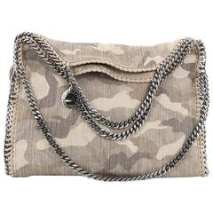 Stella McCartney Falabella Fold Over Bag Printed Canvas