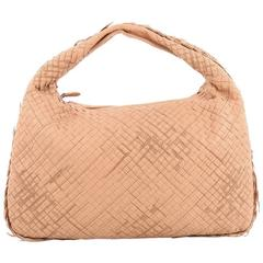 Bottega Veneta Veneta Hobo Stitched Intrecciato Nappa Large