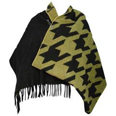 Acne Studios Vivianna Wool Poncho/Scarf Shawl rt. $750