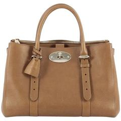 Mulberry Bayswater Double Zip Convertible Tote Leather Small