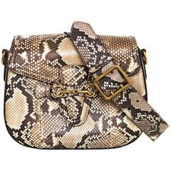 Gucci Python Lady Web Crossbody Bag w/ 2 Straps rt. $3,400