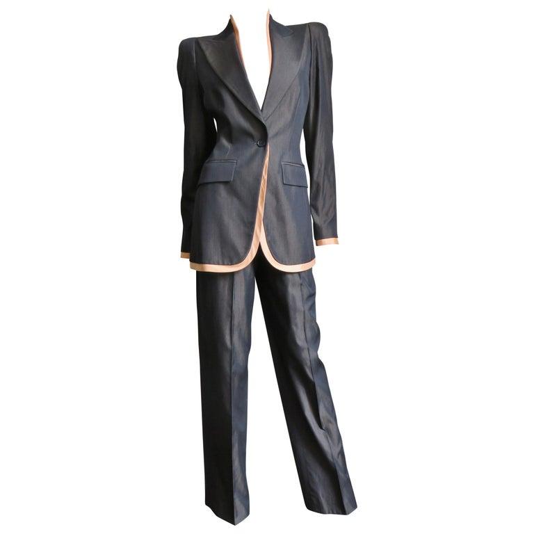 Alexander McQueen 2000 Pant Suit