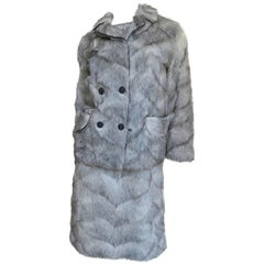 1960's Fabulous Fur Dress and Jacket