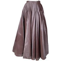 Jean Paul Gaultier Pinstrip Ball Gown Skirt circa 1990s/2000s