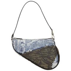 Dior Blue Dior Saddle Pouch