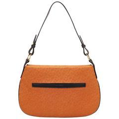 Loewe Orange Flat Shoulder Bag