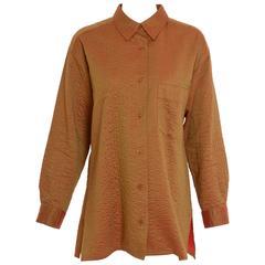 1990s ISSEY MIYAKE Iridescent Shirt