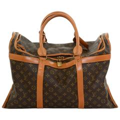 1990s Louis Vuitton Sac Chaussures Monogram Canvas Carry Bag