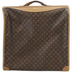 Louis Vuitton Brown Monogram Garment Hanger Bag