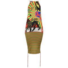 Christian Dior Iconic Rasta Dress