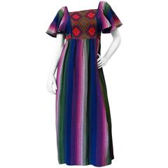 1970s Bohemian Rikma Maxi Dress