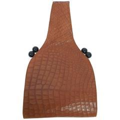 Koret Croc Wrist Handbag