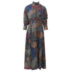 Dior Challis Print Dress