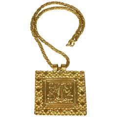 Line Vautrin L'Arbre de Vie Pendant Necklace