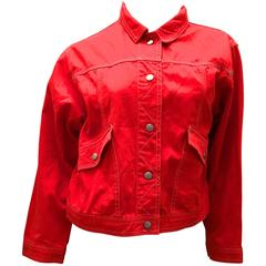 Courreges Jacket - 100% Cotton - Early 1980's