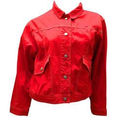 Courreges Jacket - 100% Cotton -Late 1970's