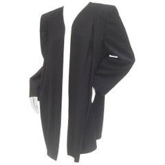Valentino Italian Light Weight Wool Duster Jacket, circa 1980s