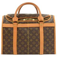 Vintage Louis Vuitton Sac Chaussures 40 Monogram Canvas Travel Bag