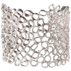 Giulia Barela Air Cuff in Silver