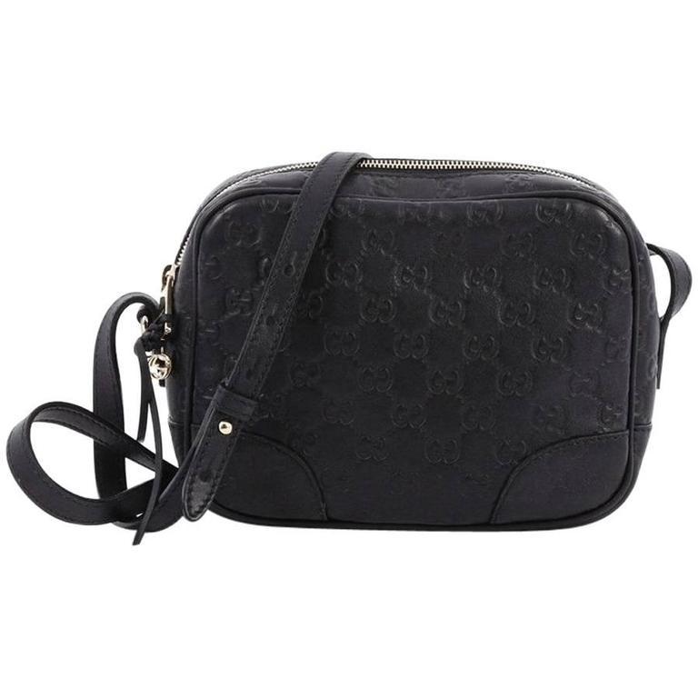 7f6f4f4a9e9f Gucci Bree Disco Crossbody Bag Guccissima Leather Mini at 1stdibs