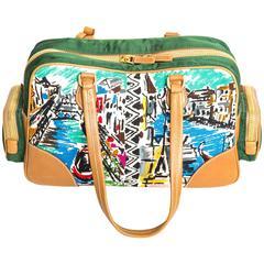 Prada Limited Edition Canapa St Venez Bag
