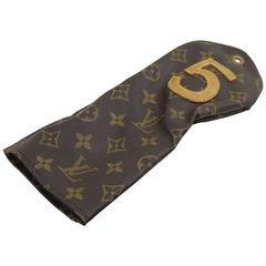 Louis Vuitton Vintage Monogram Canvas gold Club N5 Cover