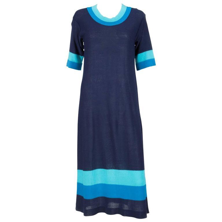 Blue Pierre Cardin Dress