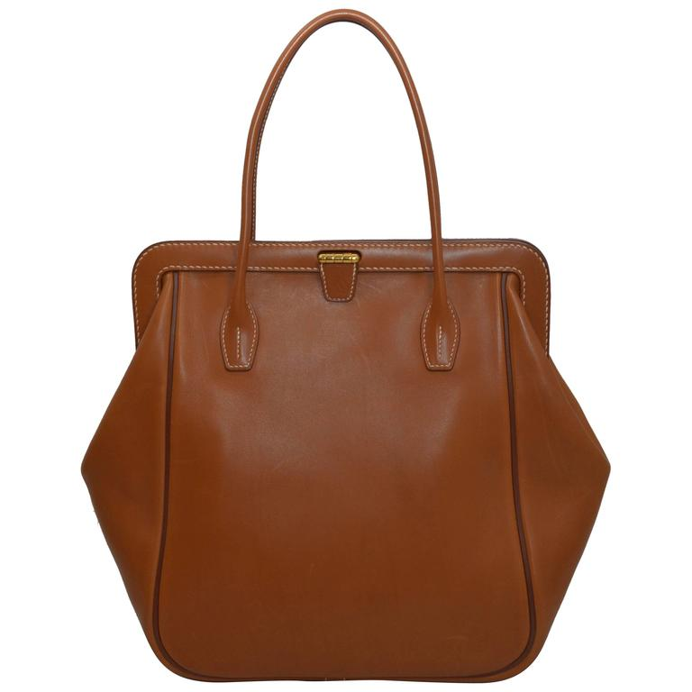 hermes gm convoyeur bag in bar233nia calfskin 2014 at 1stdibs