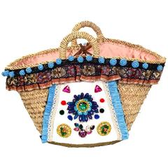 Dolce & Gabbana Summer '16 Embellished Runway Tote Bag