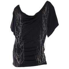John Galliano Punk Rock Chain Fringe T-Shirt