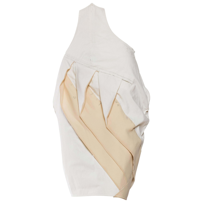 2000S JOHN GALLIANO Working Muslin Sample Skirt From Galliano's Archive
